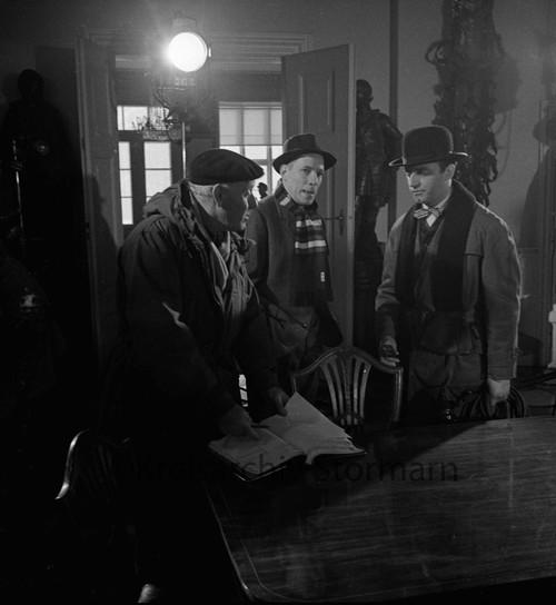 """Dreharbeiten zum Film """"Der grüne Bogenschütze"""", 1960"""