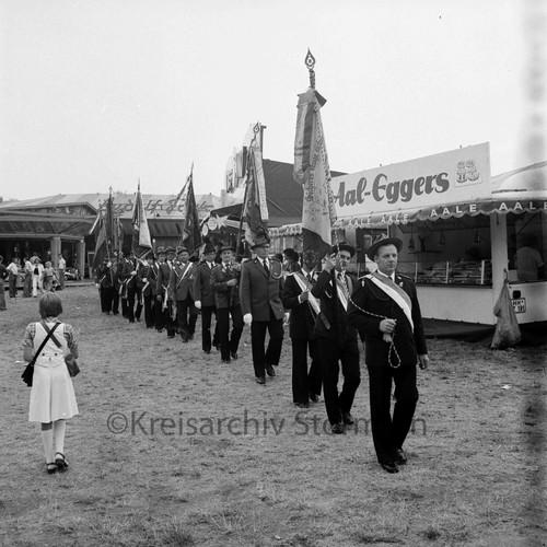 Volks- und Schützenfest in Sprenge, 1976