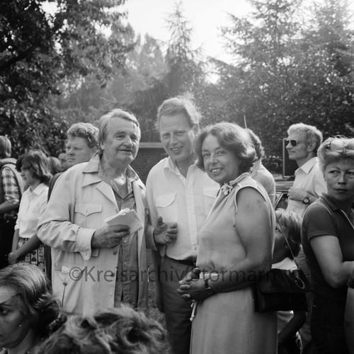 Rolf Italiaander im Gespräch mit Karl Eduard Claussen und Maria Heitmann, 1979