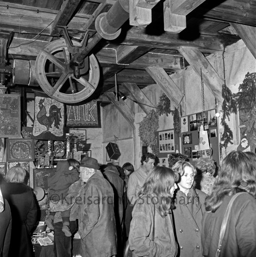 Europa-Weihnachts-Bazar der Jungen Europäischen Föderalisten (JEF) e.V. und Europa-Union, 1982