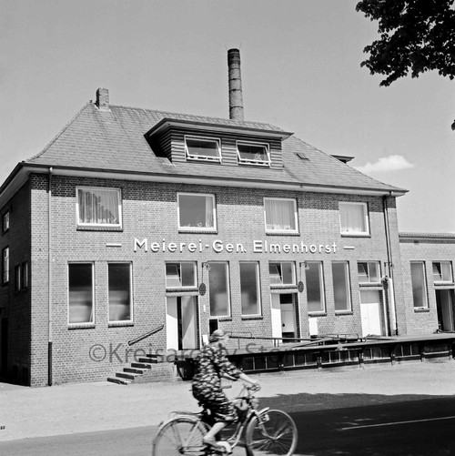 Gebäude der Meiereigenossenschaft, 1963