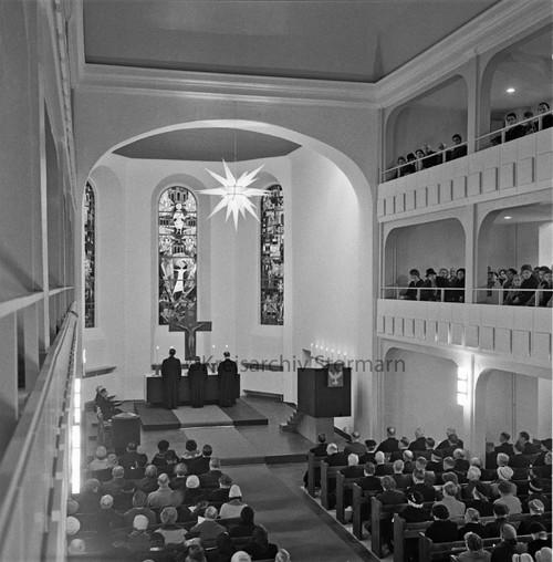 Kirchenweihe nach der Renovierung, 18. Dezember 1960