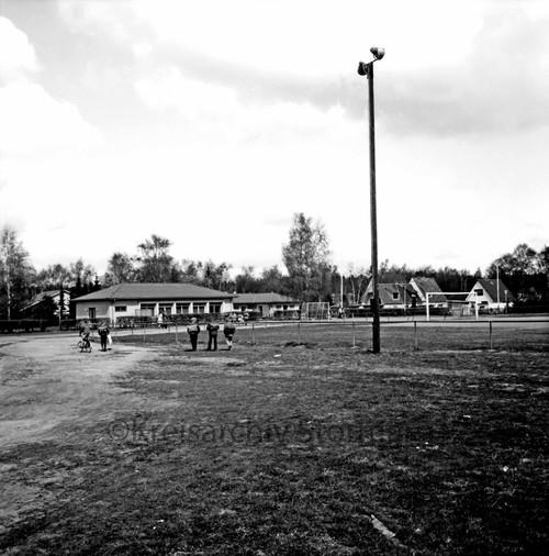 Sportanlage am Kortenkamp ca. 1972