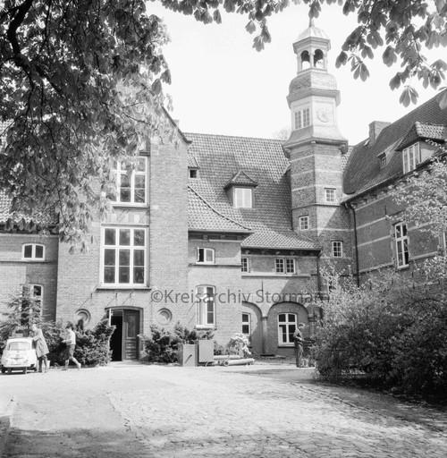 Schloss Reinbek als Sitz der Bundesforschungsanstalt für Holz- und Forstwirtschaft, 1964