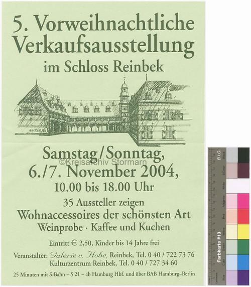 Plakat des Kulturzentrums Reinbek, 2004