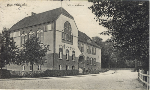 Präparandeum in Bad Oldesloe, ca. 1915