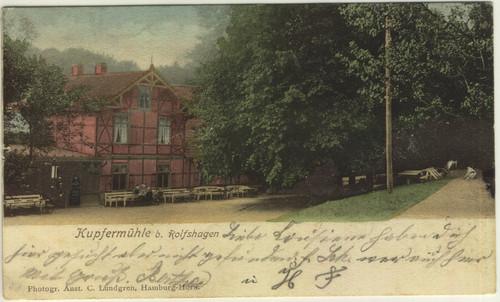 Postkarte, 1909