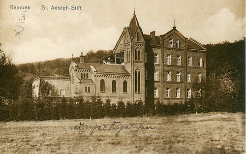 St.-Adolf-Stift, Postkarte 1932