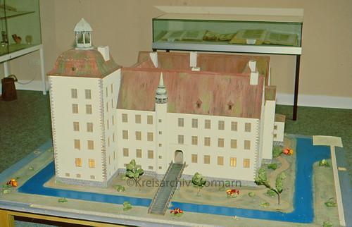 Modell des Schlosses Reinfeld , 1984