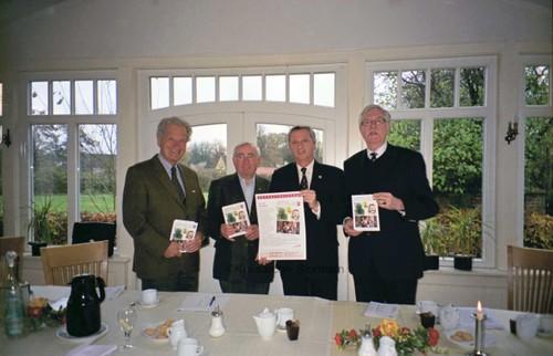 Präsenation des Jahrbuches für den Kreis Stormarn im Fasanenhof in Jersbek, 2009