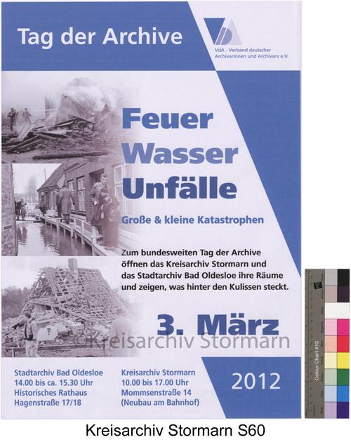 Plakat zum Tag der Archive, 2012