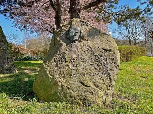 Gedenkstein in Reinfeld, 2020