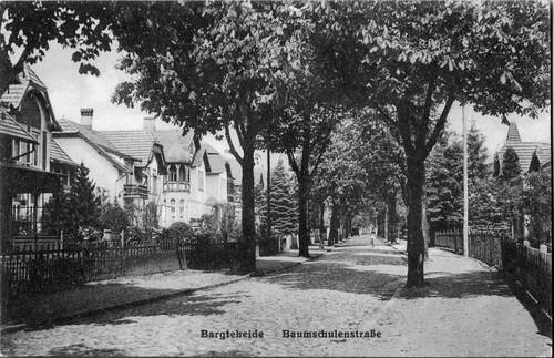 Postkarte der Baumschulenstraße, o. J.
