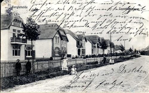 Postkarte Tremsbütteler Weg, 1912