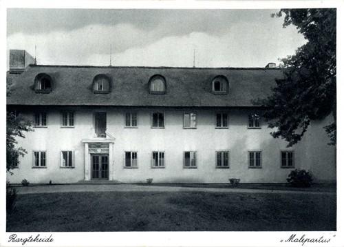 """Reichsposterholungsheim """"Malepartus"""", Postkarte, ca. 1940"""